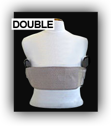 Double Deep Concealment Chest Holster